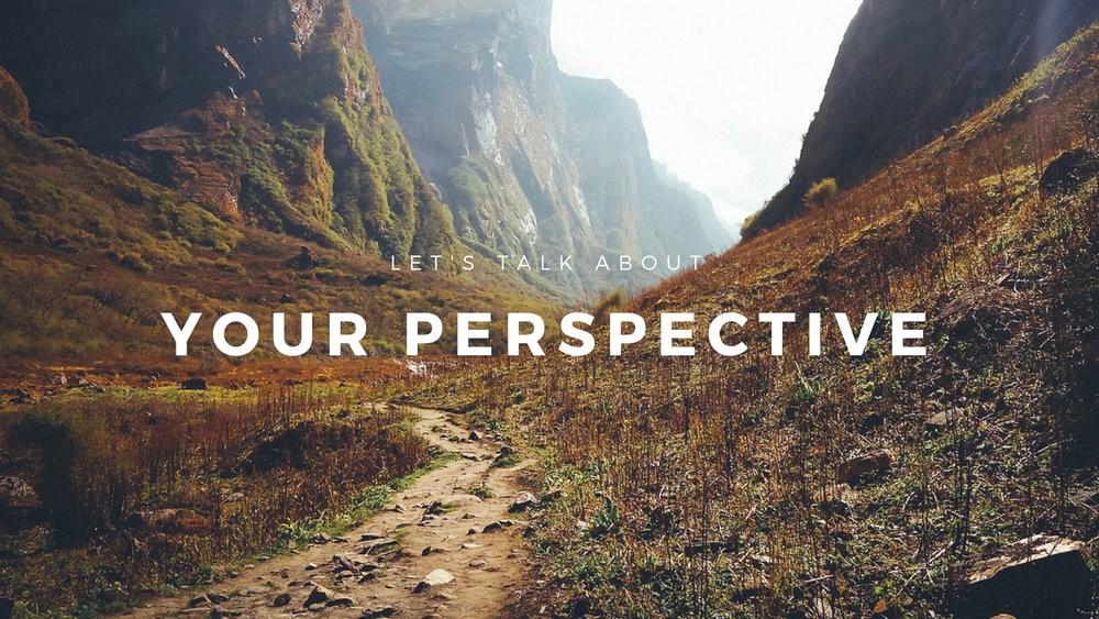 ¿Cambiar la realidad? Comienza por cambiar laperspectiva