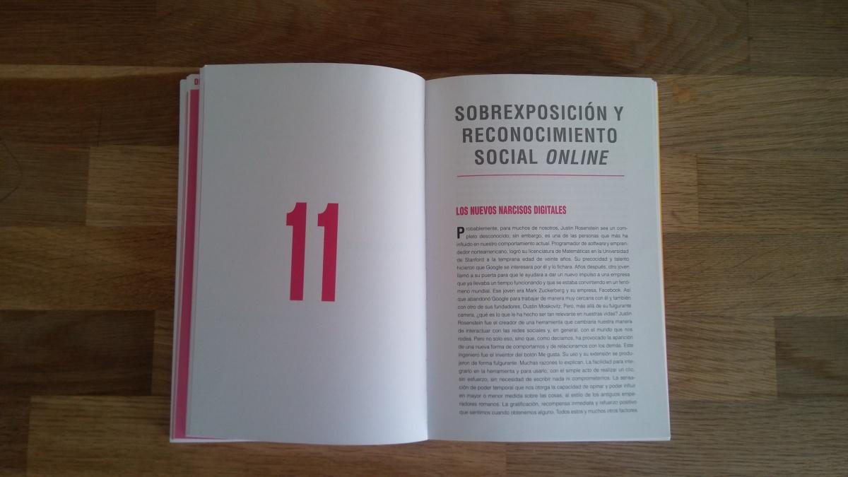 """Las citas de """"INSATISFICCIÓN"""". Capítulo 11. Sobreexposición y reconocimiento socialonline"""