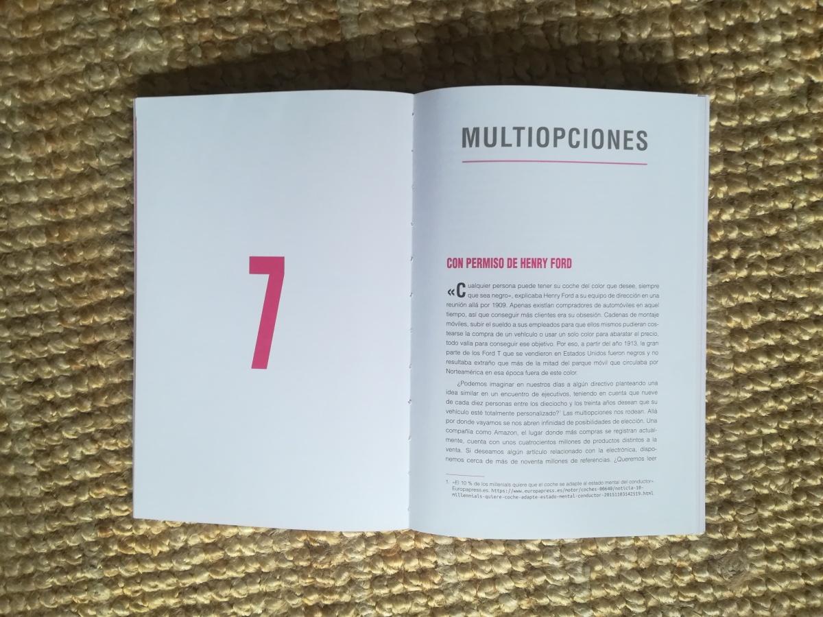 """Las citas de """"INSATISFICCIÓN"""". Capítulo 7. """"Multiopciones"""""""