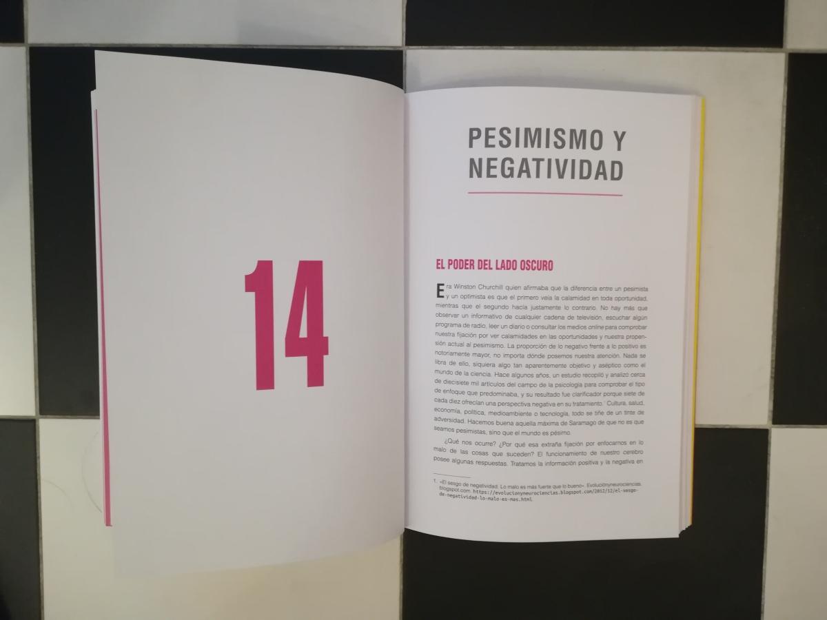 """Las citas de INSATISFICCIÓN. Capítulo 14. """"Pesimismo y negatividad"""""""