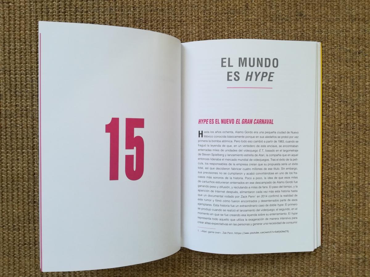 """Las citas de INSATISFICCIÓN. Capítulo 15. """"El mundo eshype""""."""