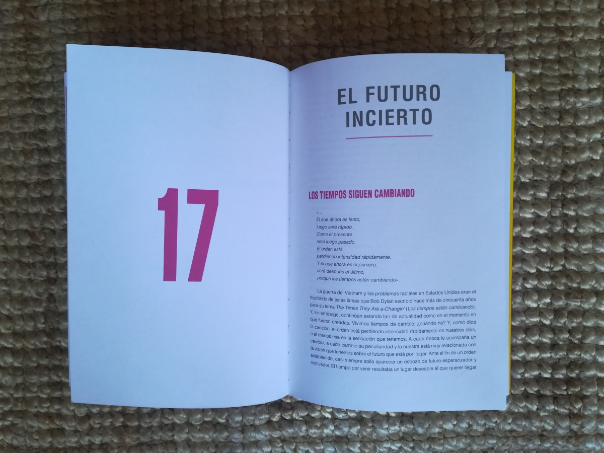 """Las citas de INSATISFICCIÓN. Capítulo 17. """"El futuro incierto""""."""