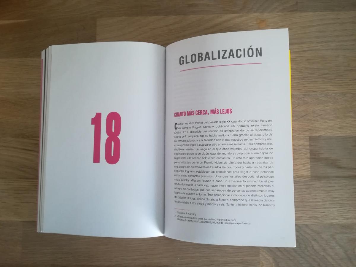 """Las citas de INSATISFICCIÓN. Capítulo 18. """"Globalización"""""""